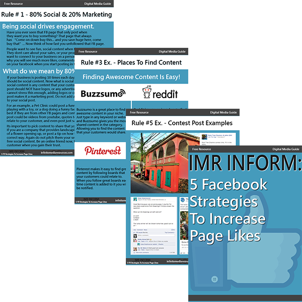 Download Our Free E-Book On 5 Ways To Build Your Facebook Page