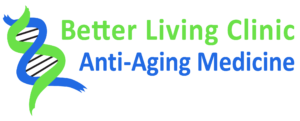 logo for the better living clinic anti-aging medicine