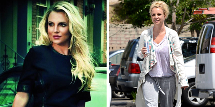 bad websites, first impression matters, picture of brittney spears dressed in business clothes on the left and dressed in sweat pants on the right, bad business is a major business concern