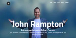 internet marketing, picture of john rampton website, john rampton internet marketing genius
