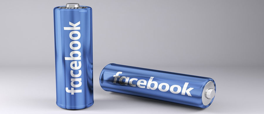 facebook marketing, picture of 2 batteries that say facebook on them, how to use facebook marketing for amazing business results