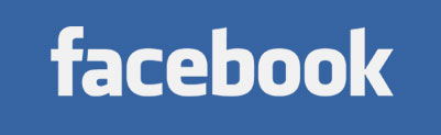 facebook logo on a blue background for imr