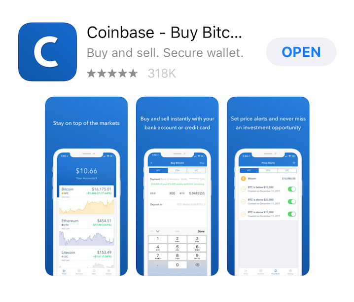 Coinbase In App Store - IMR | Digital and Social Media Marketing Agency