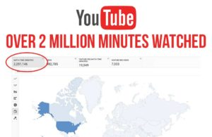 imr business 1 youtube accomplishment with over 2 million minutes watched for digital marketing agency